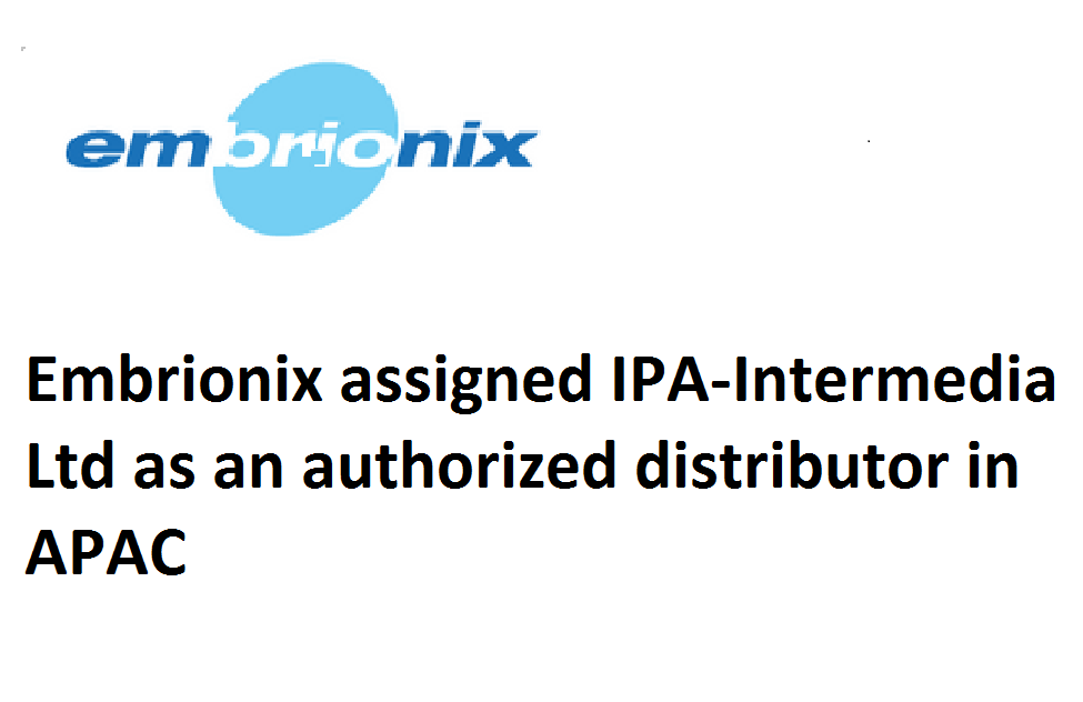 Embrionix assigned IPA-Intermedia as an authorized distributor in APAC.